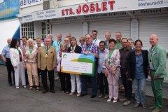 Remise chèque 2015 à la Ligue Luxembourgeoise de la Sclérose en Plaques (Multiplesclerose)