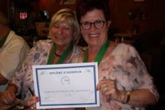 Diplôme d'honneur APEMH (Association des Parents d'Enfants Mentalement Handicapés)