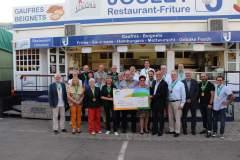 Remise chèque 2019 Wäertvoll Liewen a.s.b.l.