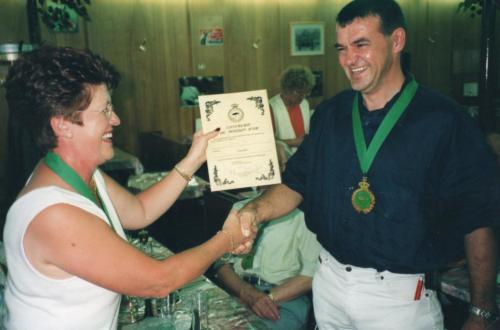 2003 Nouveau chevalier M. Donven Paul