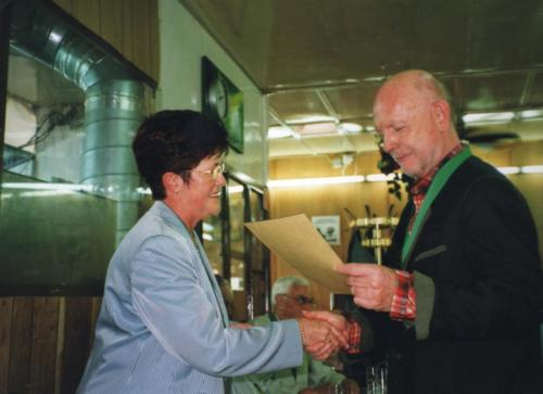 2004 Nouveau chevalier M. Dillenburg Pierre