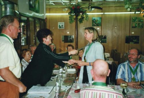 2005 Nouveau chevalier Mme Polfer Lydie