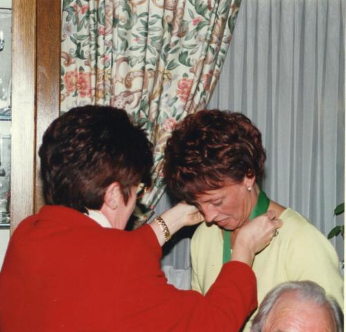 2000 Nouveau chevalier Mme Graas-Pauly Viviane